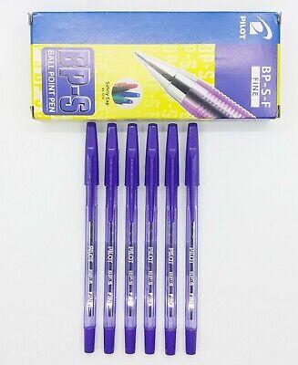 Pilot Bp-s 0.7mm Fine Ball Point Pen 12 Pcs Purple C