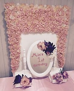Flower wall photo backdrop birthday baby shower Pearsall Wanneroo Area Preview