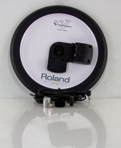 Roland CY-12C V-Cymbal V Drum Trigger CY12C with Rotation Stopper set and Cable