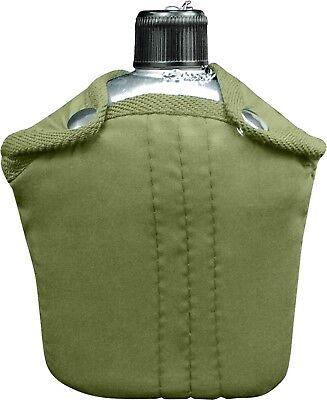 Aluminium 1 Qt Cantine avec Couverture /& OD Pistol Belt Kit