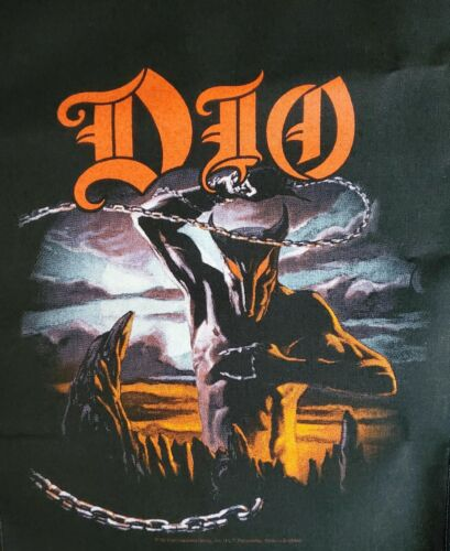 DIO - HOLY DIVER GIANT BACK PATCH - IMPORTED, LICENSED SEW-ON PATCH