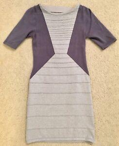 Wow Couture silver bodycon dress - L