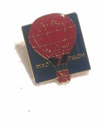 """1985 PRO TECH THE SKY'S THE LIMIT 7/8"""" BY 1"""" BALLOON PIN"""