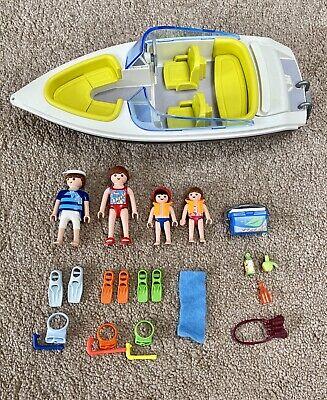 Playmobil Family Speedboat