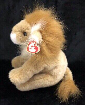 Ty Sahara Lion Plush Stuffed Animal 1997 Beanie Buddies