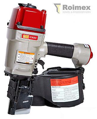 Industrie RGN CN90 Coilnagler f. Coilnägel Druckluftnagler Nagler  50-90mm+Nägel