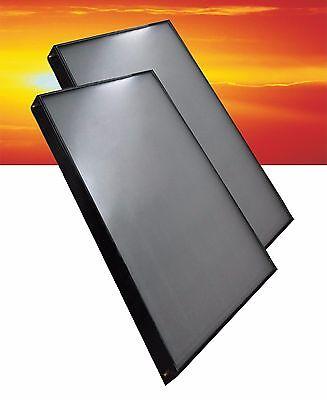 Flachkollektoren Solaranlage Solarkollektor Flachkollektor Solarplatte Solar