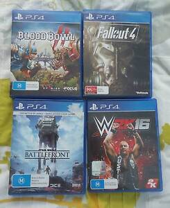 Sony PlayStation 4 PS4 Games - WWE Fallout 4 Blood Bowl Blacktown Blacktown Area Preview