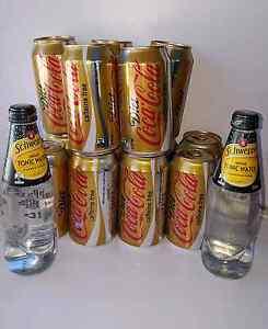 X13 caffeine free diet coke&X2 Schweppes tonic water Wilston Brisbane North West Preview