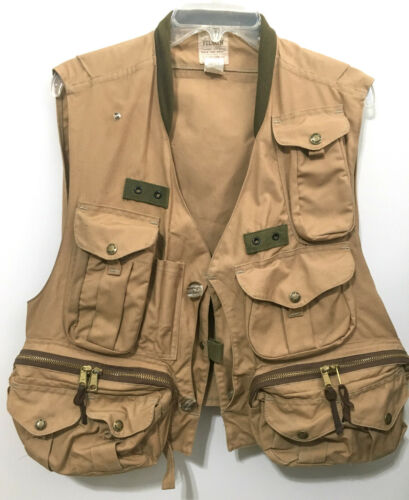 FILSON® FLY FISHING GUIDE VEST (USA Made - Size L) SLIGHTLY USED / LOWER PRICE!!