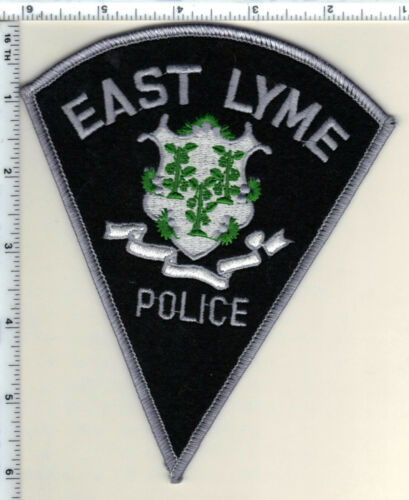 East Lyme Police (Connecticut) Shoulder Patch - new from 1990