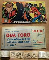 Capitan Miki - Striscia Originale N°15 Del 21.12.52 - Il Prigioniero Invisibile -  - ebay.it