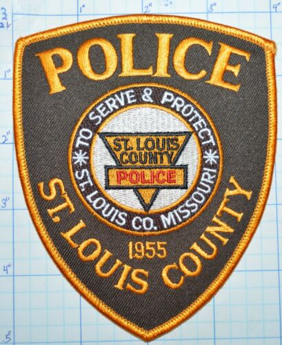 MISSOURI, ST. LOUIS COUNTY POLICE DEPT PATCH