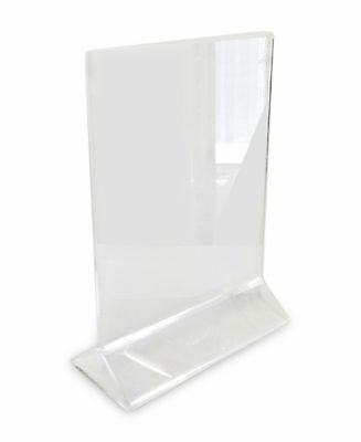 Acrylic Table Card Menu Holder Stand Restaurant 5 X 7 Mpn 003 Th