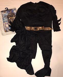 Rubies-Deluxe-Batman-Dark-Knight-Halloween-Costume-Mens-L-42-44-Muscle-Chest