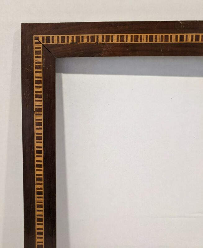 Vintage Brazilian Inlaid Frame