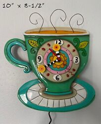 Sunny Cup Of Coffee Clock