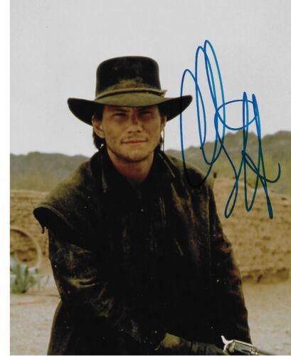 Christian Slater signed Mr. Robot Robin Hood Rare Actor Movies PROOF COA LOOK!