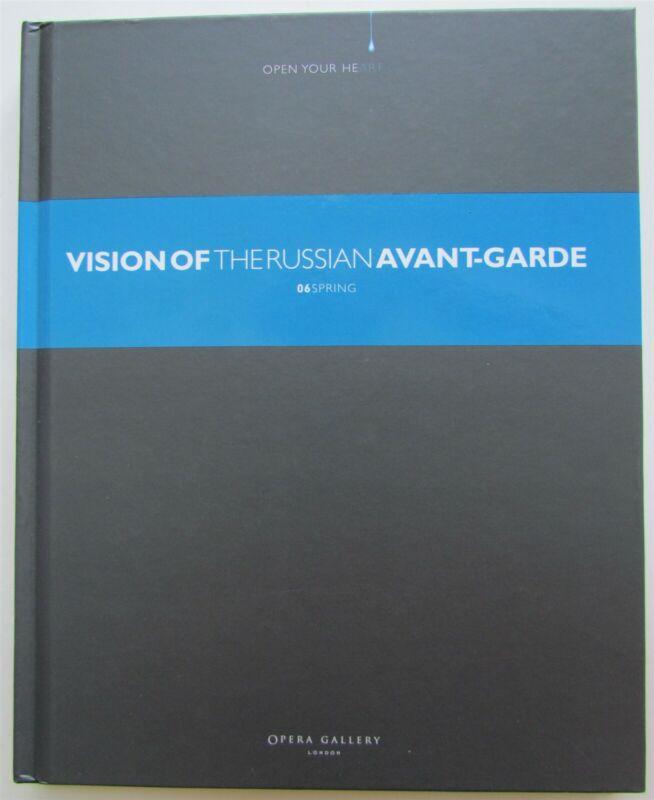 VISION OF THE RUSSIAN AVANT-GARDE ILLUSTRATED ART ALBUM