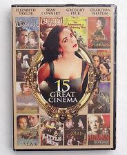 15 Great Cinema Shakespeare F. Scott Fitzgerald Charles Dickens classic movies