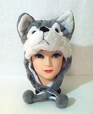 Halloween Costume Animal Hat in Designs of Panda, Deer, Wolf, Frog, etc