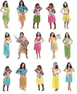 Hawaiirock Mottoparty Hawaii Hularock Röcke Kinder Damen Kostüm (Rock Motto Kostüme)
