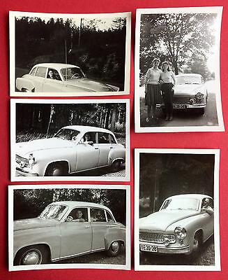 5 x altes Foto um 1960 WARTBUG 311   ( 8096
