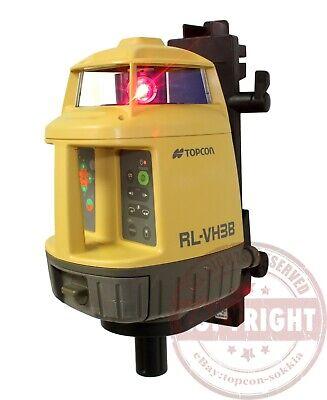 Topcon Rl-vh3b Self-leveling Rotary Laser Levelspectra Precisiondewalthilti