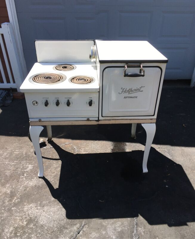 ANTIQUE HOTPOINT AUTOMATIC ELECTRIC  STOVE OVEN - $975 Ask about freight costs