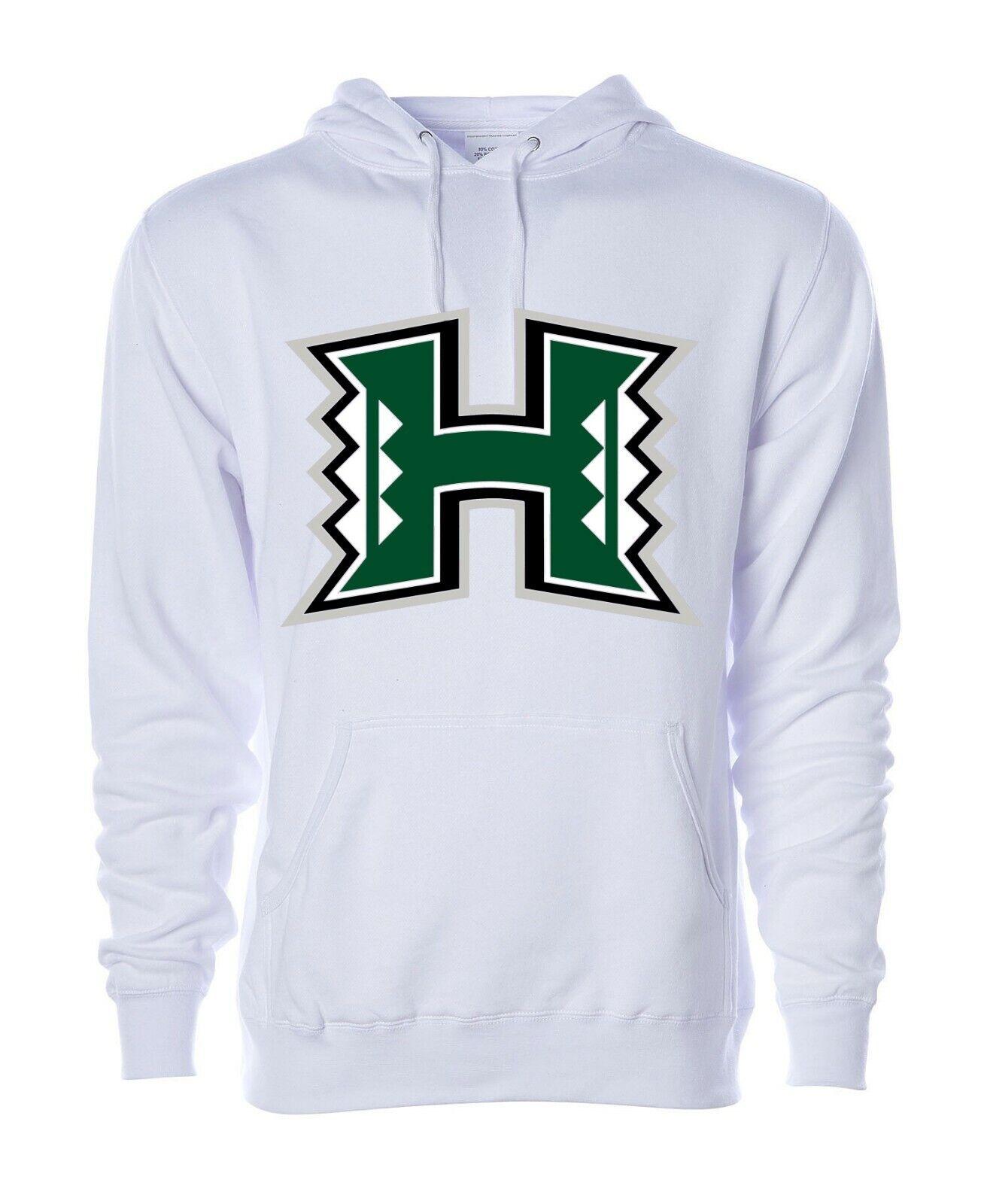 University Of Hawaii Rainbow Warriors NCAA Hoodie College Sweatshirt S M L XL2XL