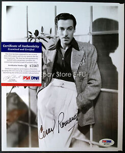 CESAR-ROMERO-Signed-8x10-Photo-Auto-PSA-DNA-Certified-Autograph-w-COA