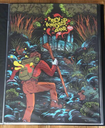 Trey Anastasio James Flames Poster Print Phish