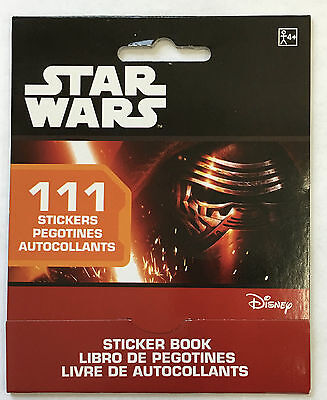 111 Stars Wars The Force Awakens Stickers Party Favors Teacher Supply Yoda  - Stars Wars Party Supplies