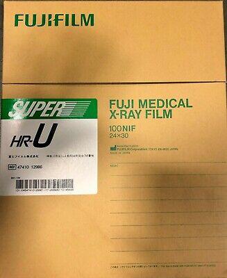Fuji Green Hr-u X-ray Film 24x30 Centimeter Box