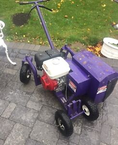 Bed edger trencher