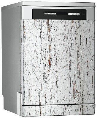 Vinilo Decorativo Lavavajillas -  Textura Natural de Madera Blanca - 67cm x 76cm, usado segunda mano  La Línea de la Concepción