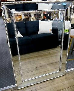 New Silver Art Deco Vintage Style Beveled Edge Wall Mirrors Melbourne CBD Melbourne City Preview