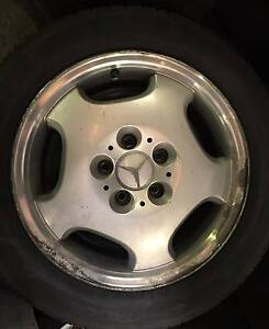 Mercedes benz CLK 320 W208 wheels and tyres Acacia Ridge Brisbane South West Preview