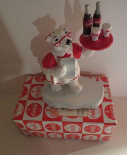 Coke Coca Cola Polar Bear Always A Waitress  MIB