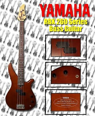 YAMAHA RBX 260 Series Electric Bass Guitar - Limited-Time, Discount Price Offer! for sale  Shipping to Canada