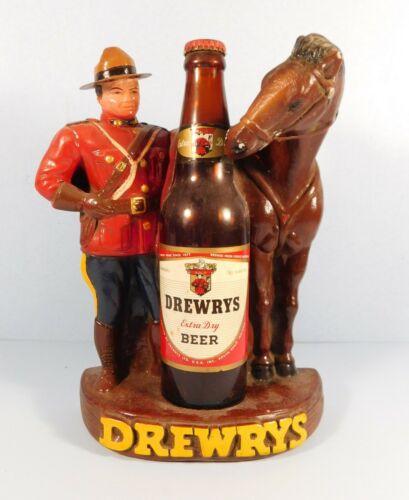 "DREWRY'S BEER ADVERTISEMENT Sign That Measures 8 1/2"" X 11"""