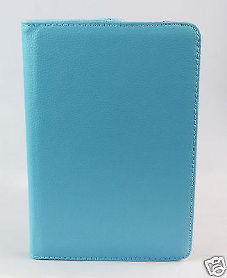 Tablet Tasche Samsung Galaxy Tab 4 - 8 Zoll Schutz Hülle Cover Case 360 Hellblau ()