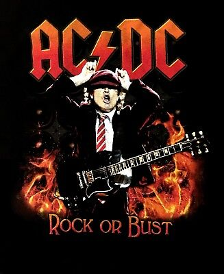 AC/DC cd lgo Rock or Bust HIGHWAY TO AMERICA 2016 Official TOUR SHIRT XL new segunda mano  Embacar hacia Argentina