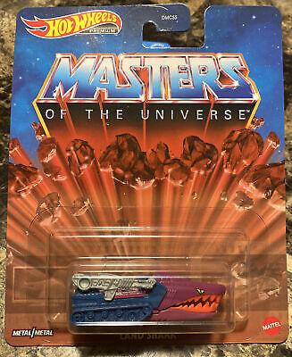 2021 Hot Wheels Premium Land Shark Masters of The Universe He-Man MOTU