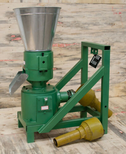 "Model 200 8"" PTO Powered Feed/Fertilizer Pellet Mill w/support. USA In-stock"