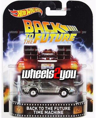 - BACK TO THE FUTURE TIME MACHINE - 2016 Hot Wheels Retro Entertainment REAL RIDER