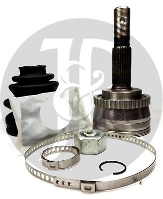 ABS OUTER CV JOINT /& BOOT GAITER KIT FOR A NISSAN PRIMERA MK2//3 ALMERA 1996-ON