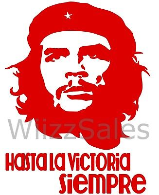 Che Guevara,Vinyl Decal,Sticker for Cars,Windows,Laptops and more