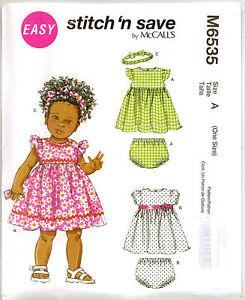 Sewing-pattern-Girls-Baby-Dress-3-24m-6535