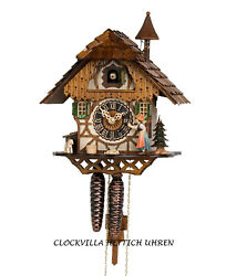 HÖNES cuckoo clock black forest 1 day mechanical movement black forest woman NEW